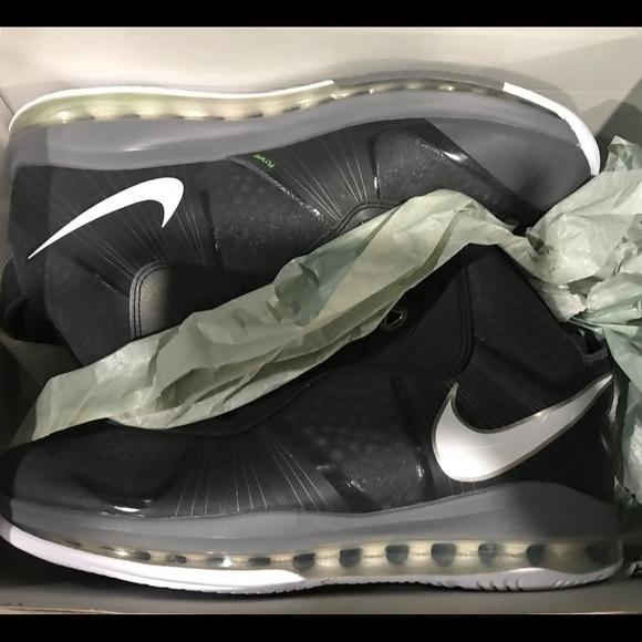 8c5d2227b563 Nike Lebron James 8V 2 Cool Grey Dead Stock Shoes